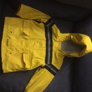 Old navy fleece lined 2t boys raincoat